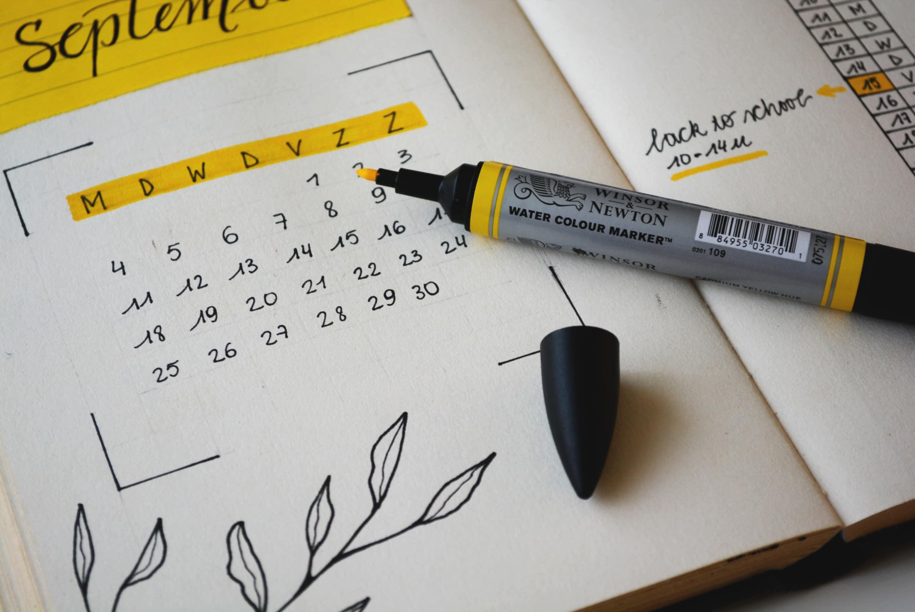 planifier sa préparation pour organiser sa réussite au concours