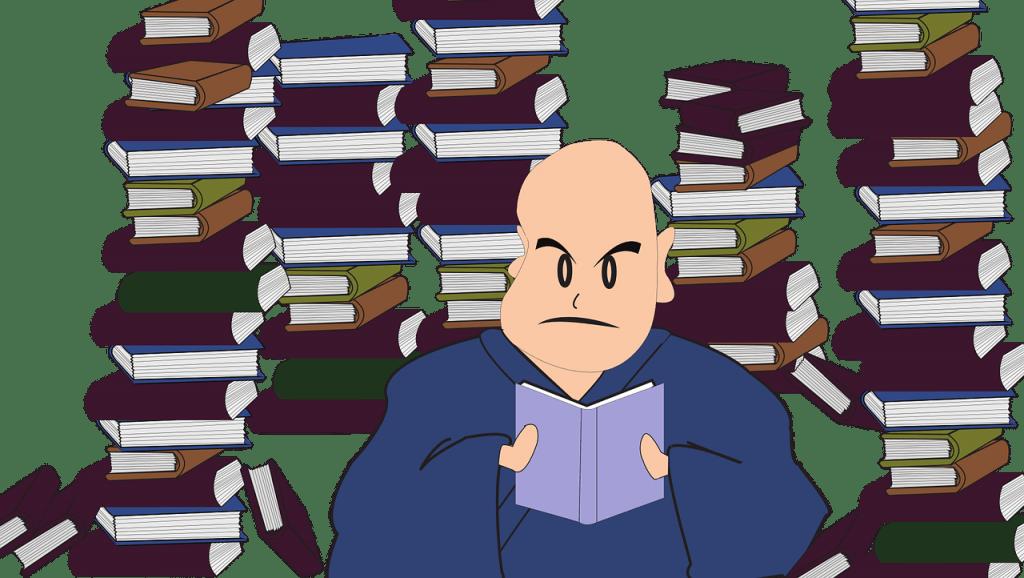 étude méticuleuse des livres et rapports du jury